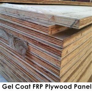 One Piece Big Size Gel- Coat Fiberglass Plywood Composite Panel pictures & photos