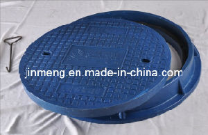 D400 Anti-Slip SMC Manhole Cover with Frame En124 pictures & photos