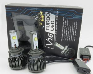 Car LED Headlight 9005 9006 Auto Parts Automobile Parts pictures & photos