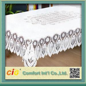 Plastic Tablecloth PVC Lace Tablecloth pictures & photos
