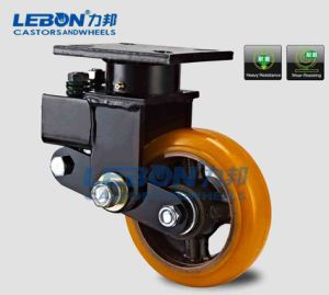 "8""PU Swivel Absorber Industrial Caster"