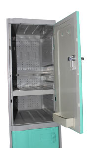 Locker Cabinet for Bathroom, Gym and Salon (LE32-3) pictures & photos