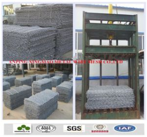China Factory Galfan Screen Stone Cage Gabion/ Woven Silk Screen Gabion (XM-DV) pictures & photos