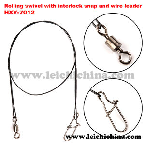 Rolling Swivel with Interlock Snap and Wire Leader pictures & photos