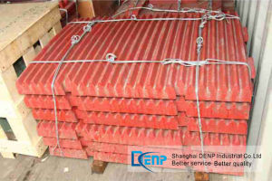 Sand Making Crusher High Manganese Steel Jaw Plate pictures & photos