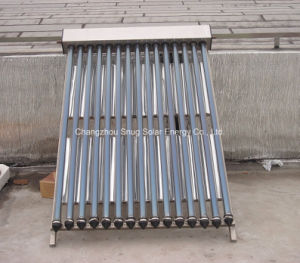 Stainless Steel Heat Pipe Solar Collector for Slope Roof pictures & photos