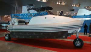 6.1m High Level Luxury Yacht Hypalon Amphibious Boat pictures & photos