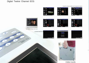 WiFi 3G Version 12 Channel Electrocardiograph-Telemedicine pictures & photos