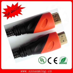 Dual Color Molding HDMI Male 19pin to HDMI Male 19pin Cable pictures & photos