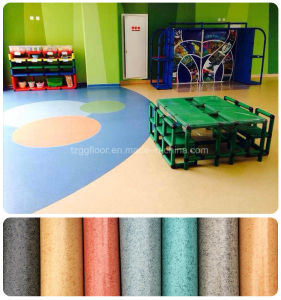 Commercial PVC Flooring for Garage Supermarket Room Hospital pictures & photos