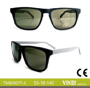 Handmade Sunglass Acetate Sunglass with Top Quality (77-A) pictures & photos