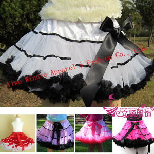 Fashion Girl Pettiskirt, Tutu, Baby Cloth, Baby Petti Skirt, Baby Dress (LC-PS-0001)