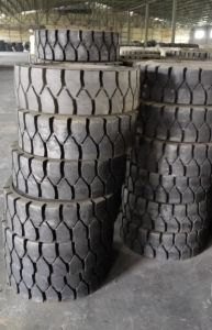 Tube Type Pneumatic Forklift Tire Industrial Tire 9.00-20 10.00-20 12.00-20 pictures & photos