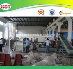Plastic Water Ring Type Pelletizing/Granulating Machines Line for PP/PE Flakes pictures & photos