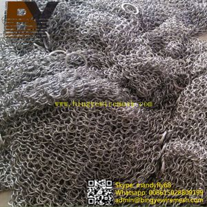 Stainless Steel Dinnerware Chainmail Scrubber pictures & photos