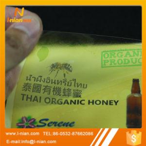Custom Label Printing Honey Jar Bottle Labels pictures & photos