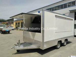2017 Ce Hot Sale Street Snack Fruck Mobile Food Truck pictures & photos