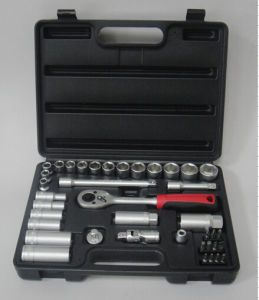 "40PCS 1/4""&3/8"" Dr Socket Set in Blowing Case (FY1440B) pictures & photos"