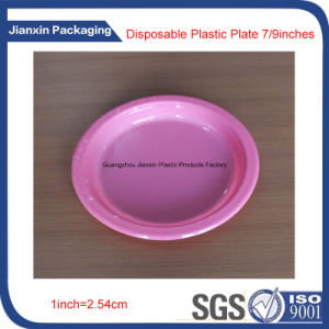 Colorful Disposable Plastic Dishes Plate Packaging pictures & photos