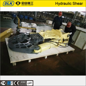 Excavator Cutting Machine Hydraulic Rotating Scrap Metal Shear for 20 Ton Excavator pictures & photos