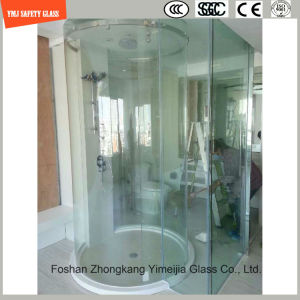 Hot-Bending Round Shower Glass pictures & photos