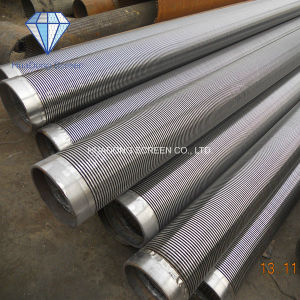 Stainless Steel Johnson Corrosion Resistant Wedge Wire Continuous Slot Screen pictures & photos