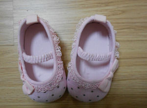 New Style Soft Cotton Baby Shoes Infant Shoes (BH-7) pictures & photos
