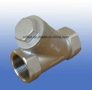 Stainless Steel Y-Check Valve 800wog pictures & photos