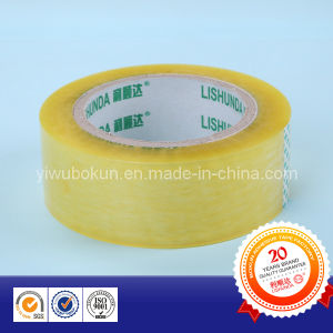 BOPP Yellow Transparent Packing Tape pictures & photos