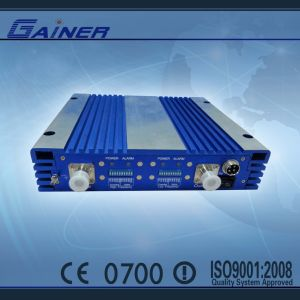 Low Cost High Quality 20dBm 900MHz+1800MHz Dual Band Signal Booster Amplifier (GCPR-GD20)