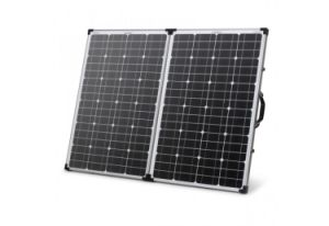 120W Folding Solar System Kits for Camping with Motorhome pictures & photos