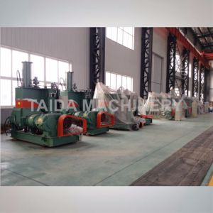 X (S) N-20, 35, 55, 75, 110 Liters Rubber Compounding Dispersion Pressurized Banbury Kneader Mixer Machine pictures & photos