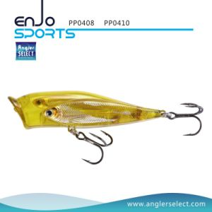 Fishing Tackle School Fish Popper Top Water Fishing Bait with Vmc Treble Hooks (PP0408) pictures & photos