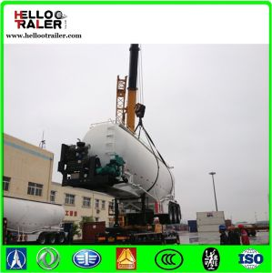 Made in China 60cbm Fuwa Axle Air Compressor Cement Bulker pictures & photos