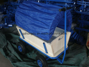 High Quality Baby or Kids Wooden Wagon Cart pictures & photos