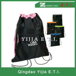 Polyester Drawstring Backpack pictures & photos