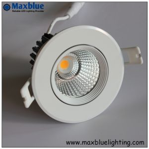 LED Shop Lighting 25W 15/24/38/60 Degree COB LED Downlight pictures & photos