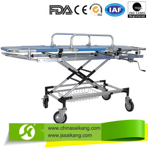 FDA Certification Luxury Stretcher Trolley pictures & photos
