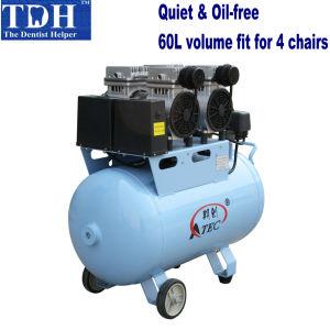 Quiet Clinic 60L Dental Air Compressor (TDH-160/60) pictures & photos