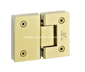 (KTG-1005) PVD 180 Degree Glass to Glass Hinge pictures & photos