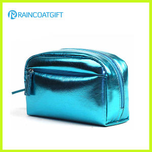 High Quality Shiny PU Cosmetic Bag pictures & photos