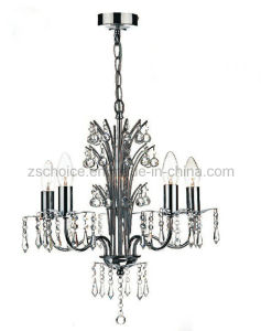 Anique Crystal Iron Pendant Lamp Chandelier