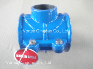Ductile Iron Saddle Clamp Pipeline pictures & photos