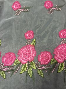 2015 New Design Colorful Embroidery Lace Fabric for Dress pictures & photos