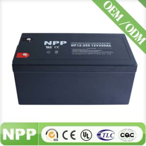 Gel Long Life Battery (12V250ah) (UL, CE, ISO9001, ISO14001)