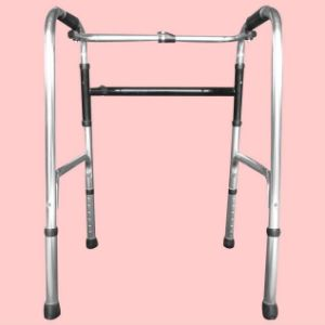 Medical Health Care Adjustable Foldable Zimmer Frame Aluminum Walking Aid pictures & photos