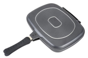 32cm Double Grill Pan