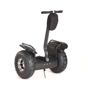 Max Speed 20km/H off Road Electric Scooter with Powerful Battery pictures & photos