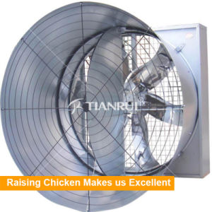 50 Inch Cone Fan with Shutter Butterfly Fan pictures & photos