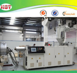 PVC PP PE PPR Single Screw Extruder for Pipes/Profiles/Granules pictures & photos